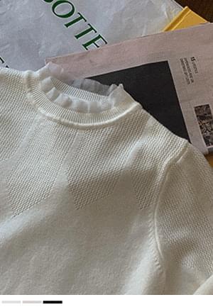 Silver Serenade Lace Knitwear