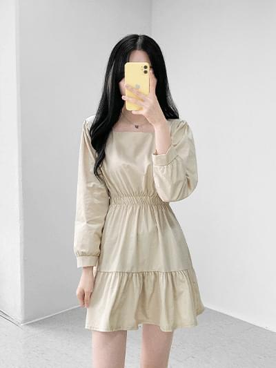 Vanilla Latte Cancan Dress