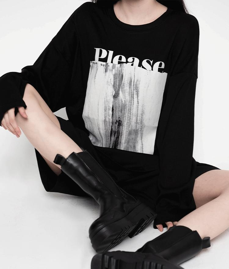 PLEASE Print T-Shirt