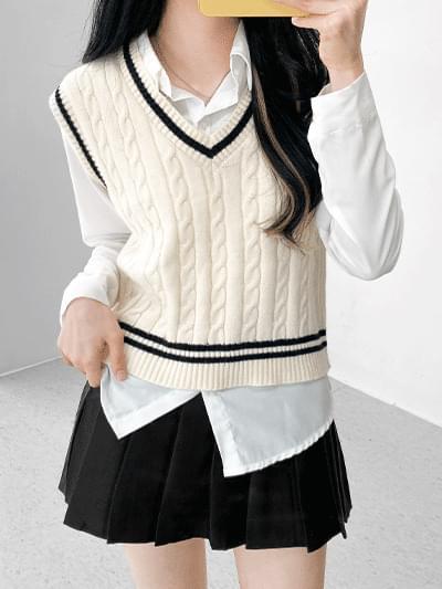 Blair Color Knitwear Vest