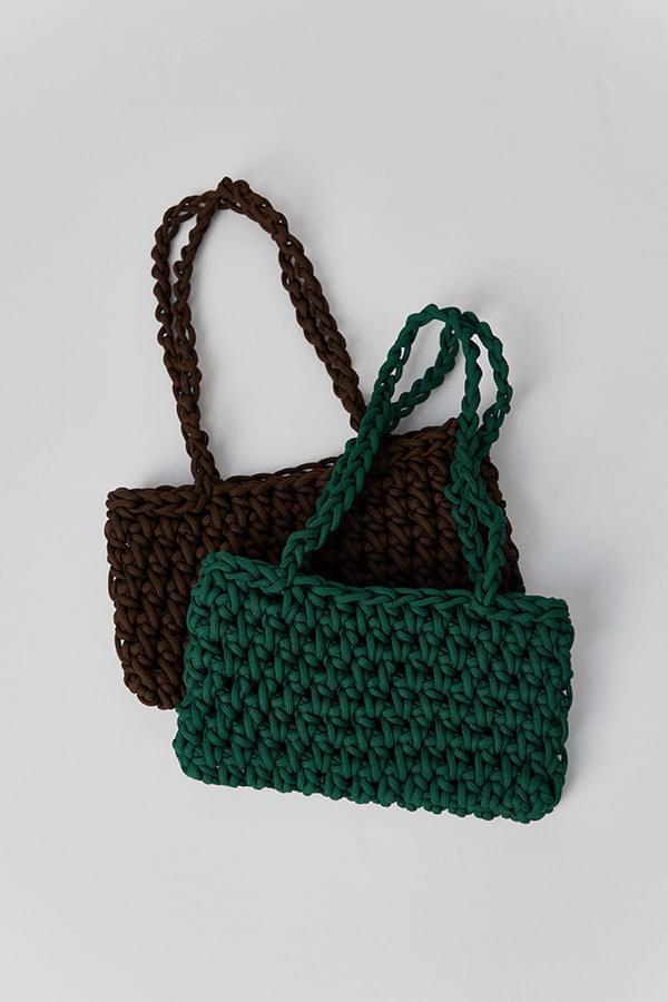 Warner handmade knitting bag