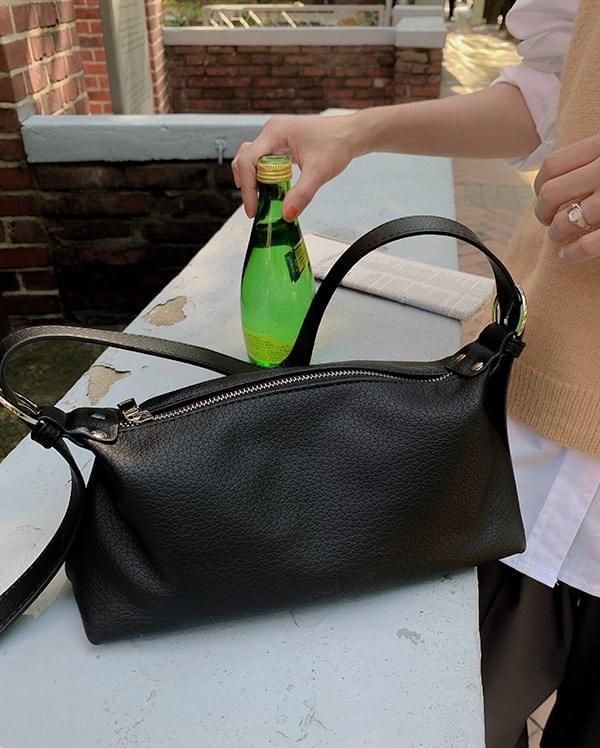 lineny buckle shoulder bag