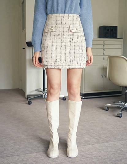 Maureen tweed miniskirt