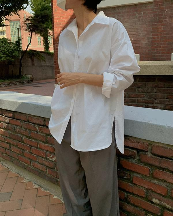Cedi Basic Cotton Shirt