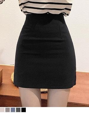 Gubu H-line slim skirt