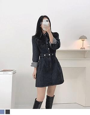 Dodd Denim Waistband Dress
