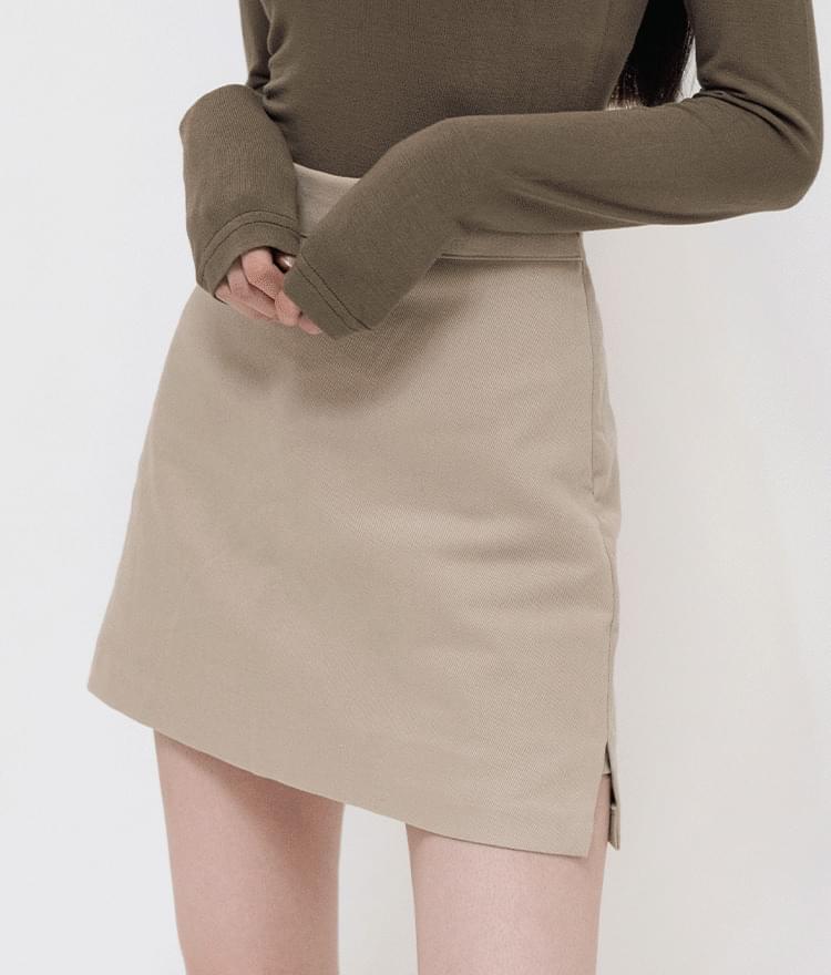 Side Slit Mini Skort 裙子