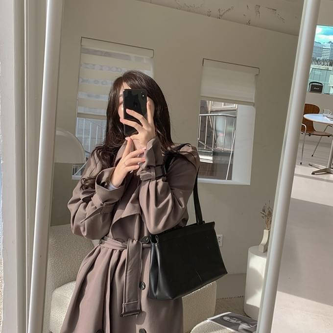 155cm My heart is a trench, a short daily long trench coat