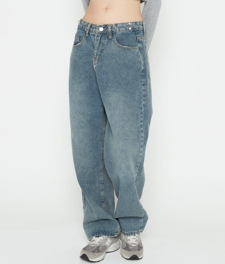 Low Waist Baggy Jeans