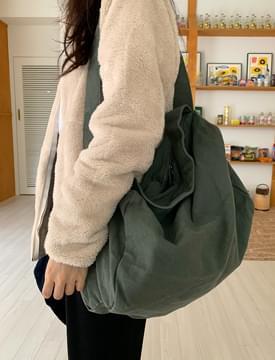 Two Strap Vintage Eco Shoulder Bag