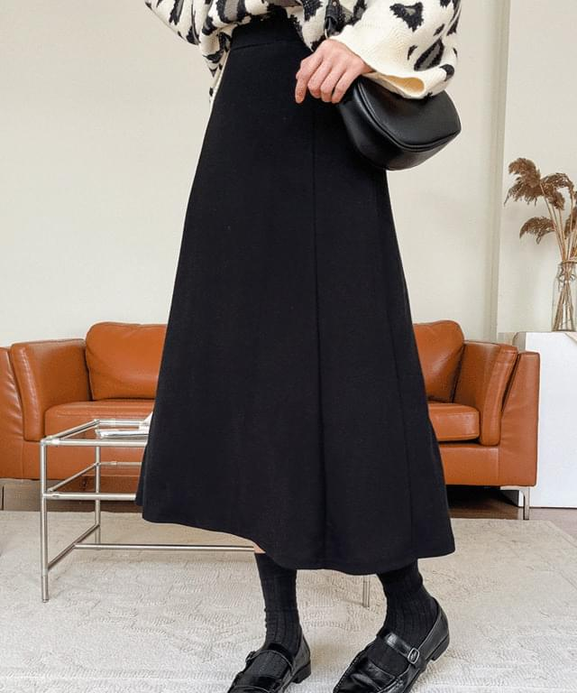 Big size 26-34 inches four cards Split long skirt flared banding