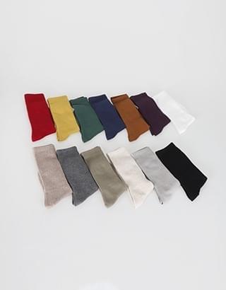 signal Ribbed long Socks