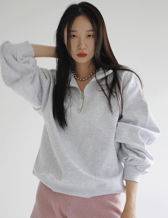 Fleece-lined zip Sweatshirt sweatshirt