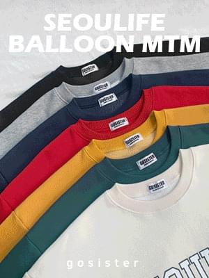 Seoul Life Balloon Sweatshirt