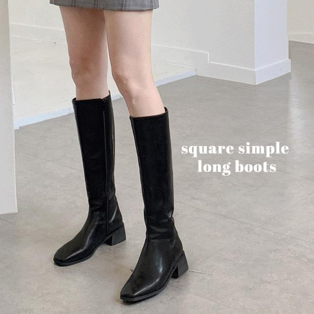 Bay Sim Fleer Long Boots Shoes SNS Inquiry Runaway (Delayed delivery)