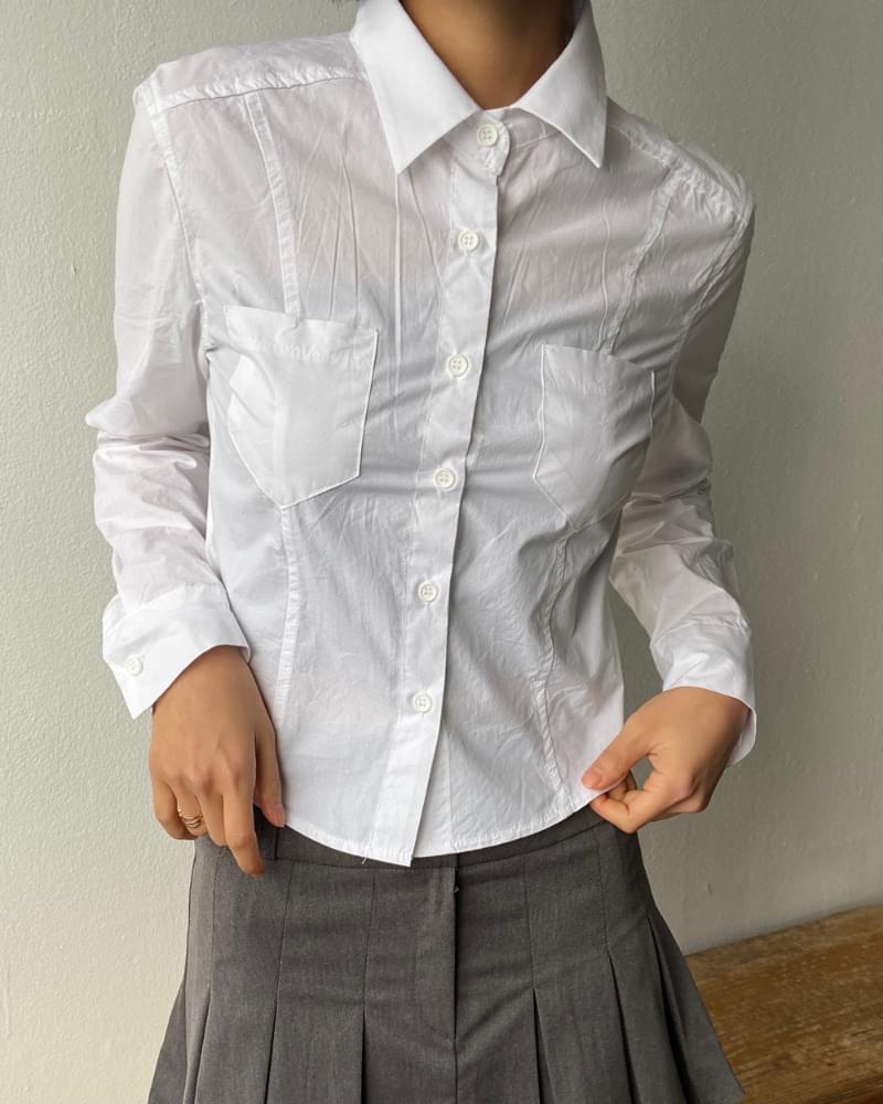 Rerun Slim Collar Shirt Shirt