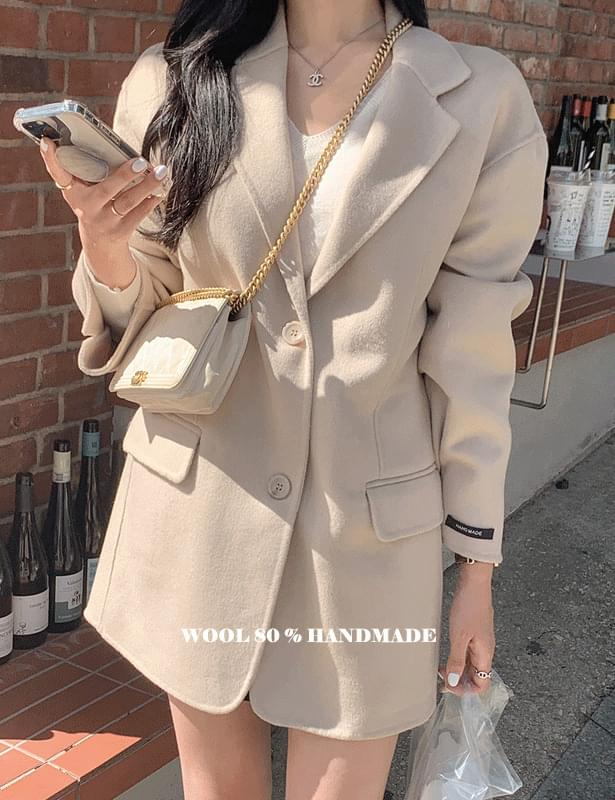low line single short coat