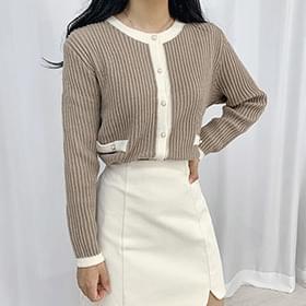 Lena Pearl Knitwear Cardigan