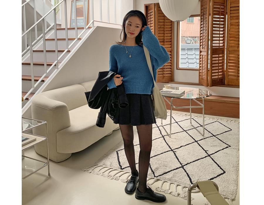Resum Loose-fit Fit Alpaca Wool Knitwear
