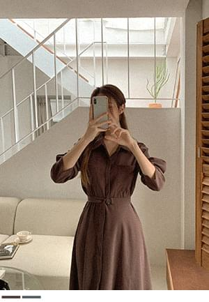 Pocket long Dress for any day