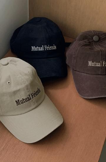 'Mutual Friends' Faded Ball Cap