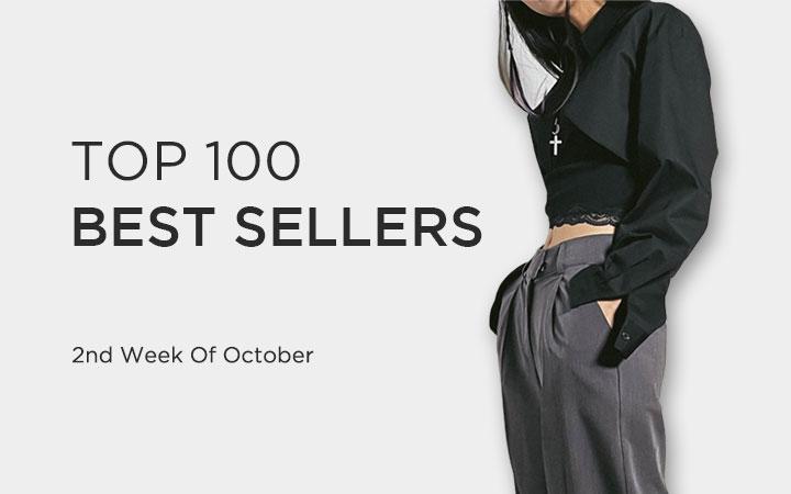 TOP 100 BEST SELLERS - 2nd Week Of October