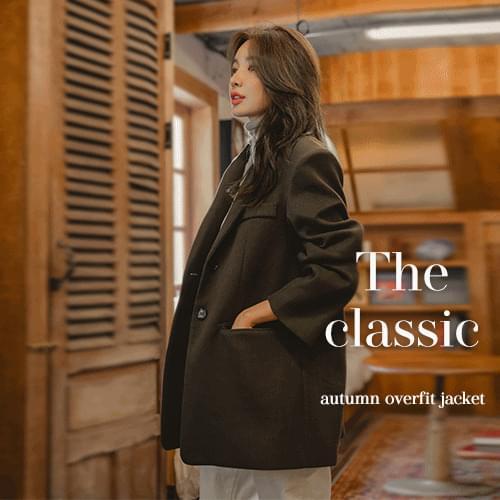 Lohas Overfit Single Jacket