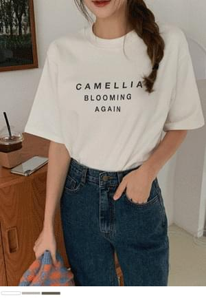 Thick and warm English T-shirt