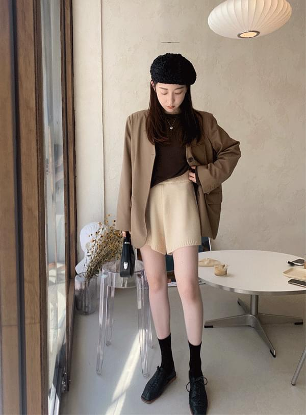 Knitwear Banding Shorts