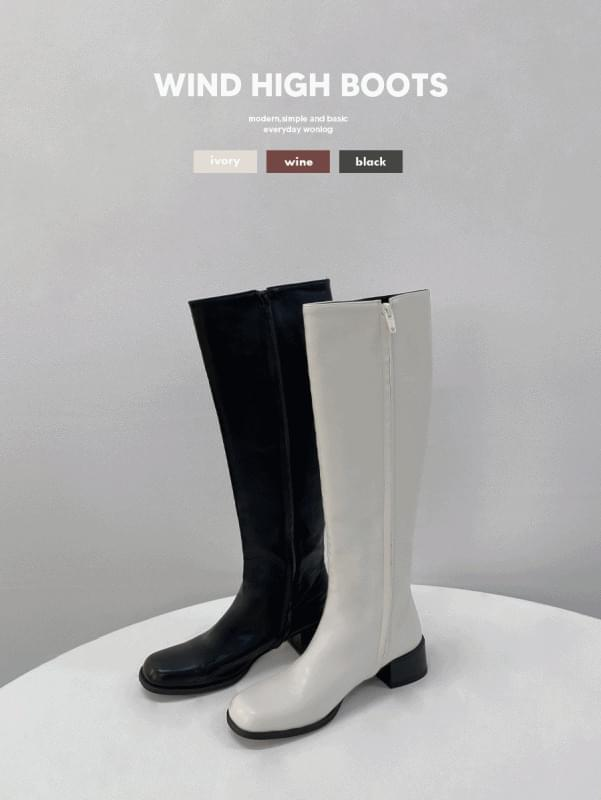 Wind High Boots