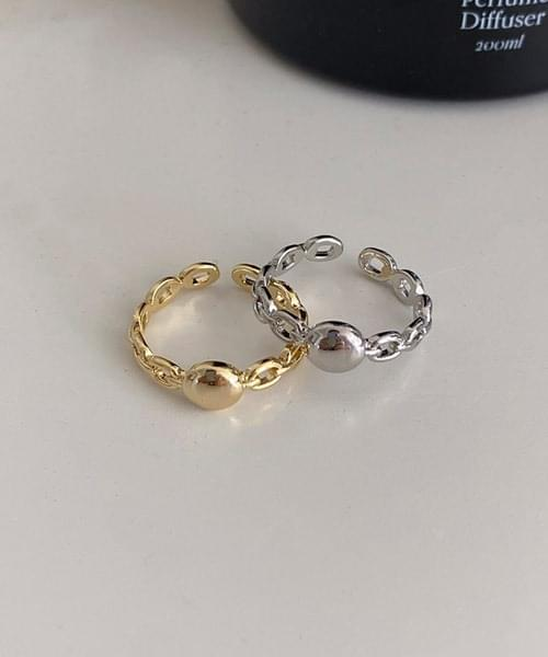 coin chain ring