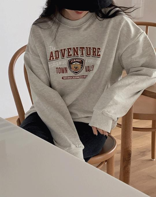 Venture Printing Round Sweatshirt - 3 color