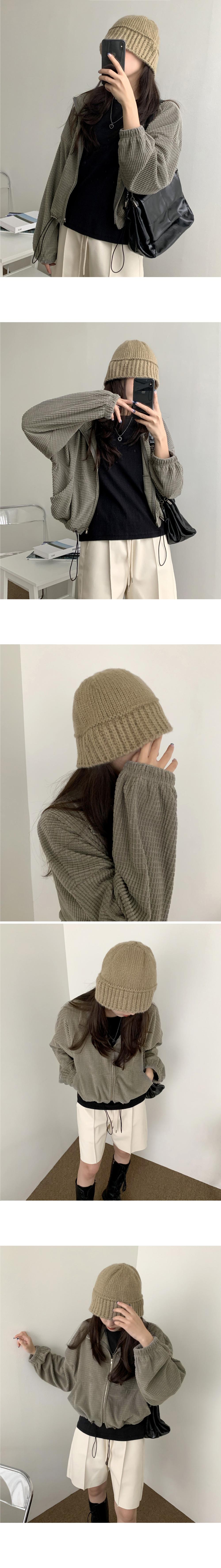 Salt Wool Knitwear Bungy Bucket Hat