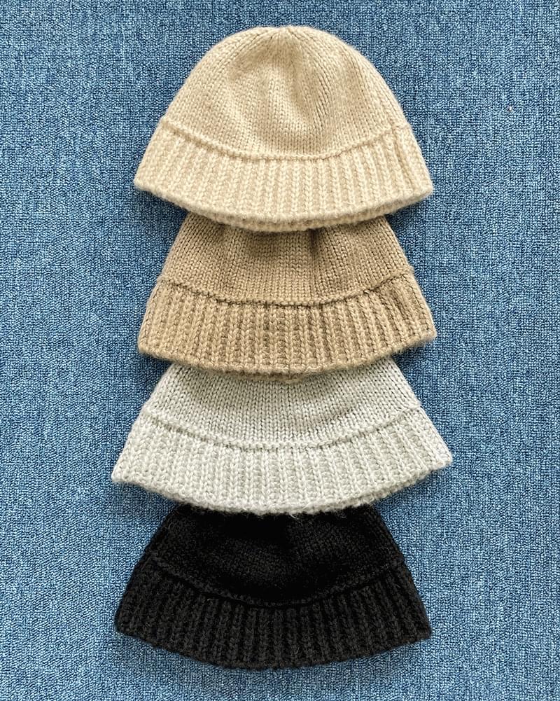 Salt Wool Knitwear Bungy Bucket Hat (Delayed delivery)