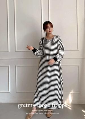 That retmi striped Dress Loose-fit