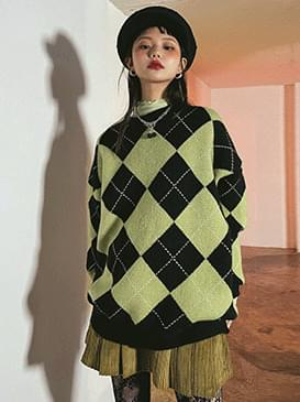 Argyle Weave Knitwear