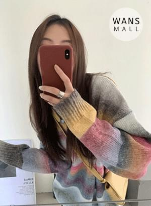 kn6450 Tipo Unique Gradient Knitwear
