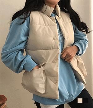 Easy to wear pocket vest padding