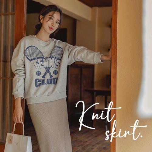 Dance H-Line Knitwear Skirt
