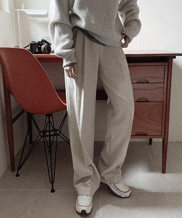 Take Pintuck Wide Long Pants