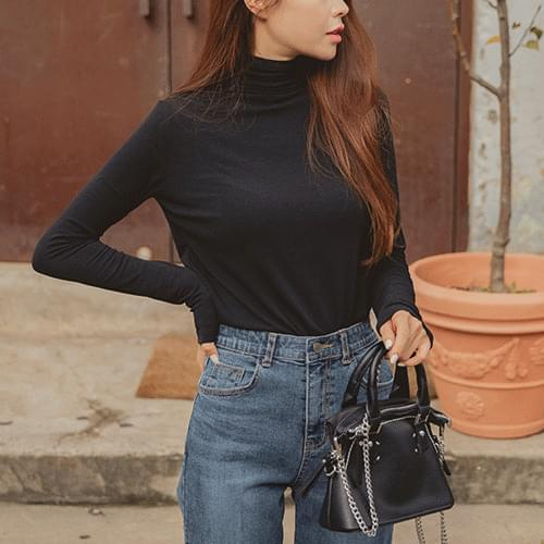 Another Spandex Turtleneck T-shirt