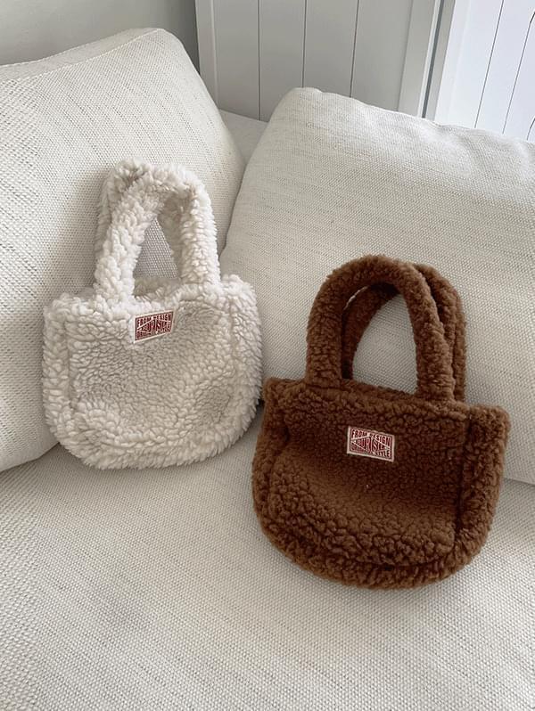 Foggy Fleece Mini Dumble Bag