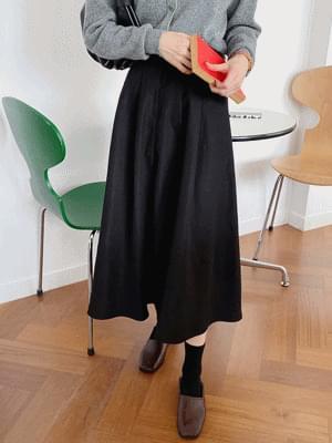 more flared skirt