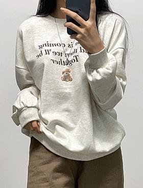 Kang Rae Lettering Sweatshirt T