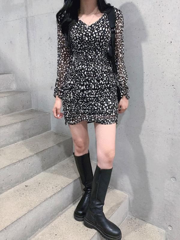 leopard shirring ops