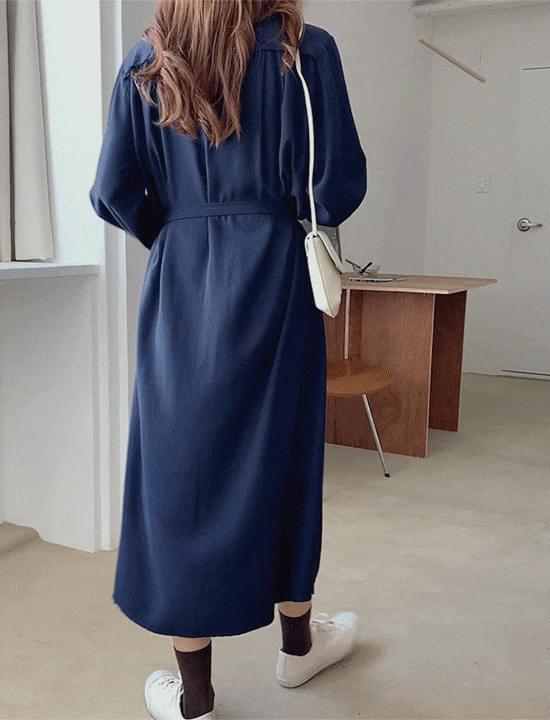 Moredan Belt Long Dress