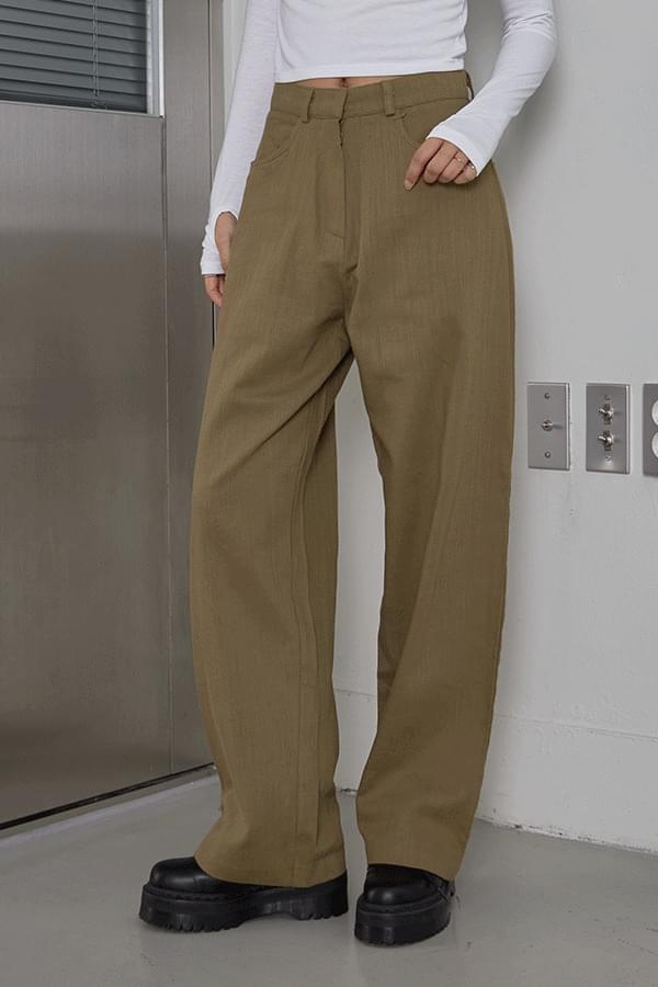 Latosa wide cotton trousers