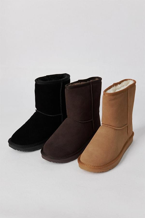 Nosea cowhide fur boots