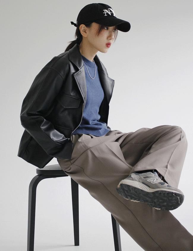 Rio leather jacket
