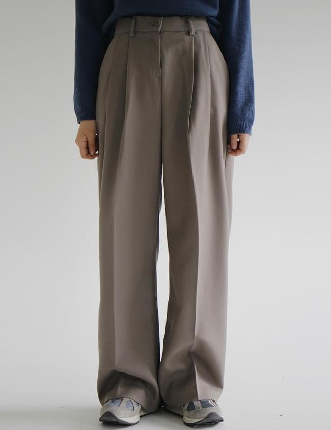 no.205 cover banding long slacks